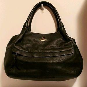 Kate Spade vintage black leather bag